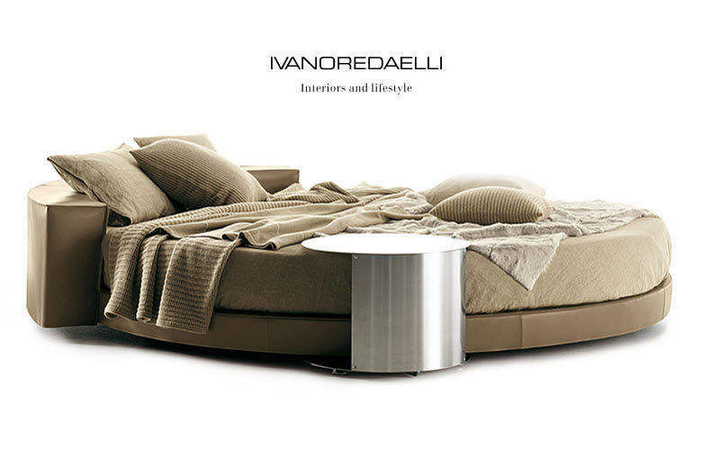 Ivano Redaelli Rundes Doppelbett Doppelbett Betten  |
