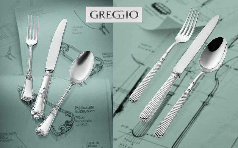 Greggio Besteck Bestecke Bestecke  |