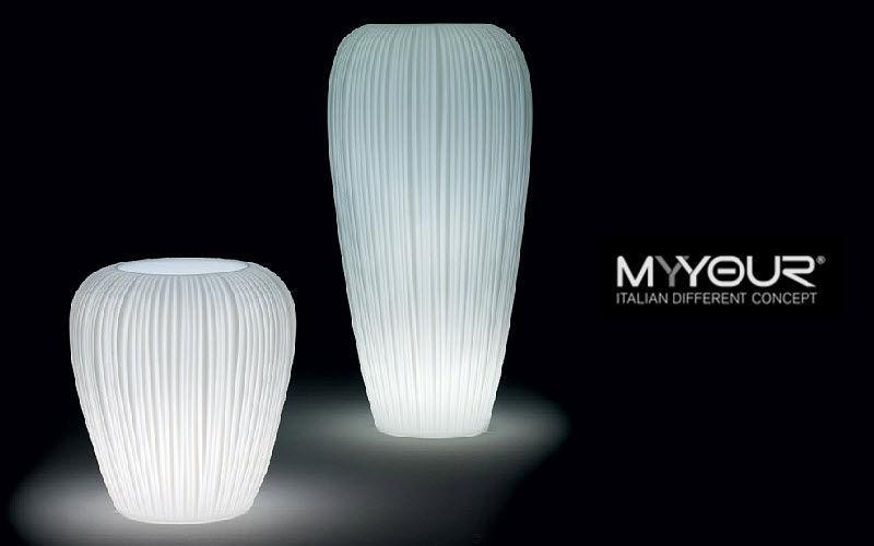 Myyour Leuchtblumentopf Bodenbeleuchtungen Außenleuchten  |