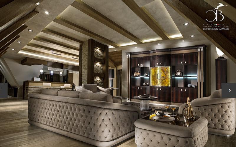 Bordignon Camillo Wohnzimmersitzgarnitur Couchgarnituren Sitze & Sofas Wohnzimmer-Bar | Design Modern