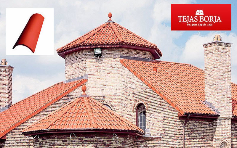 Tejas Borja Dachziegel Fassade & Dachabdeckung Gartenhäuser, Gartentore...  |