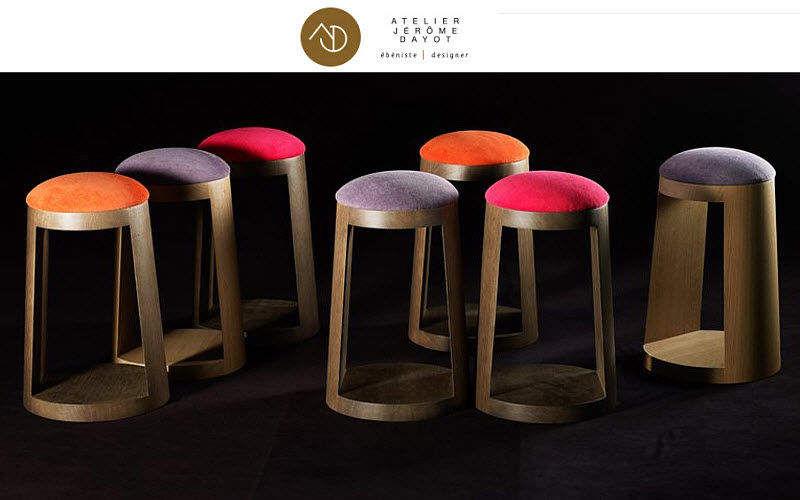 ATELIER JEROME DAYOT Barhocker Schemel und Beinauflage Sitze & Sofas  |