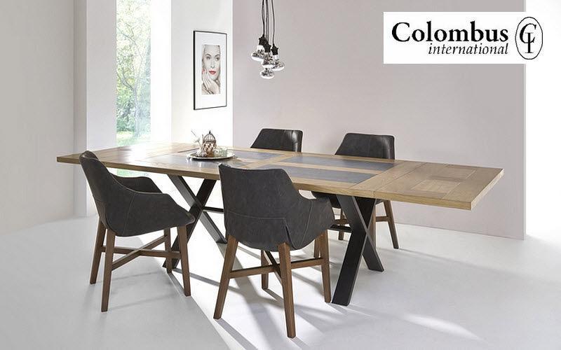 COLOMBUS Rechteckiger Esstisch Esstische Tisch  |