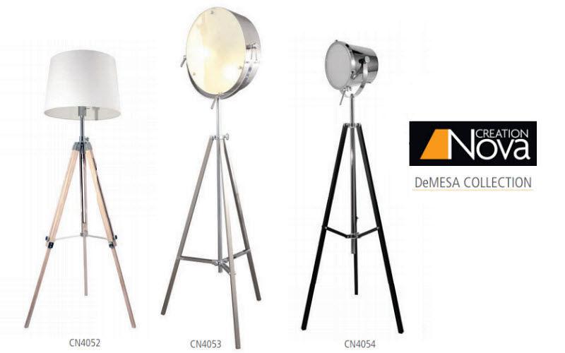 CREATION NOVA Dreifuss Lampe Stehlampe Innenbeleuchtung  |