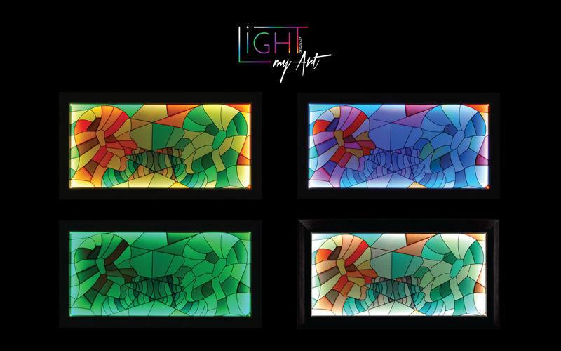LIGHT MY ART Leuchtende Gemälde Verschiedene Ziergegenstände Dekorative Gegenstände   