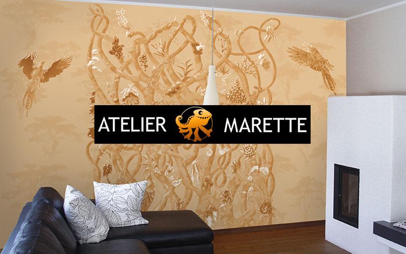 ATELIER MARETTE Panoramatapete Tapeten Wände & Decken  |