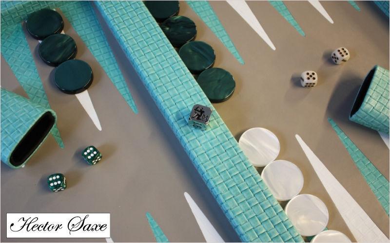 HECTOR SAXE Backgammon Gesellschaftsspiele Spiele & Spielzeuge   