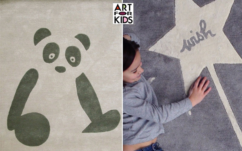 ART FOR KIDS Kinderteppich Dekoration für Kinder Kinderecke  |