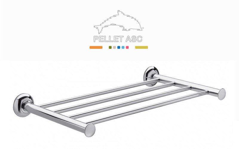 Pellet Asc Handtuchhalter mit Regal Badezimmeraccessoires Bad Sanitär  |
