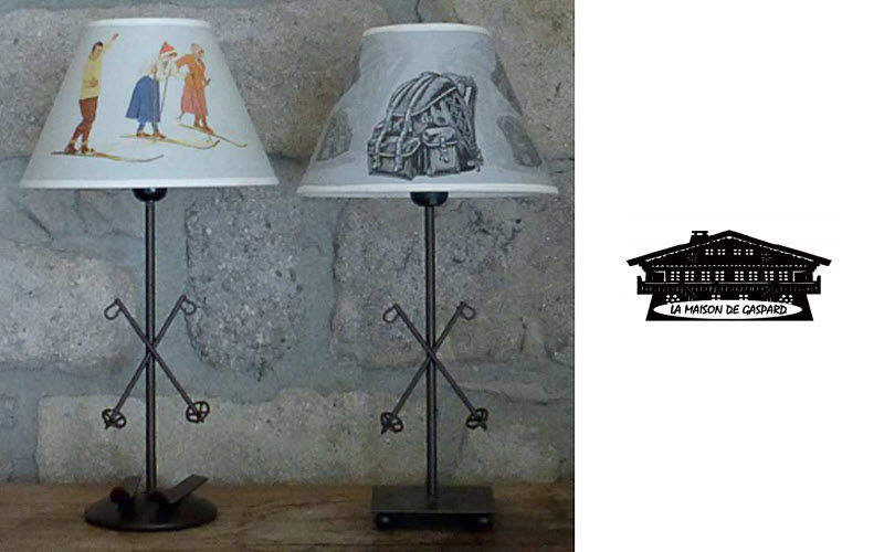 La maison de Gaspard Tischlampen Lampen & Leuchten Innenbeleuchtung   