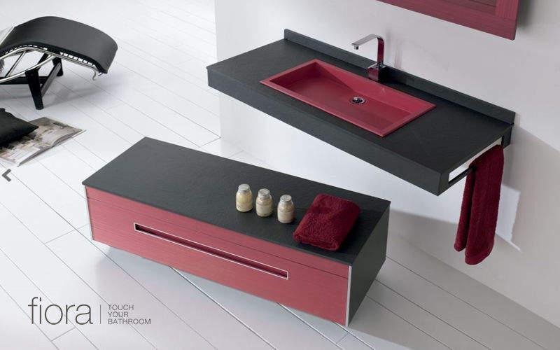 FIORA Badezimmermöbel Badezimmermöbel Bad Sanitär Badezimmer   Design Modern