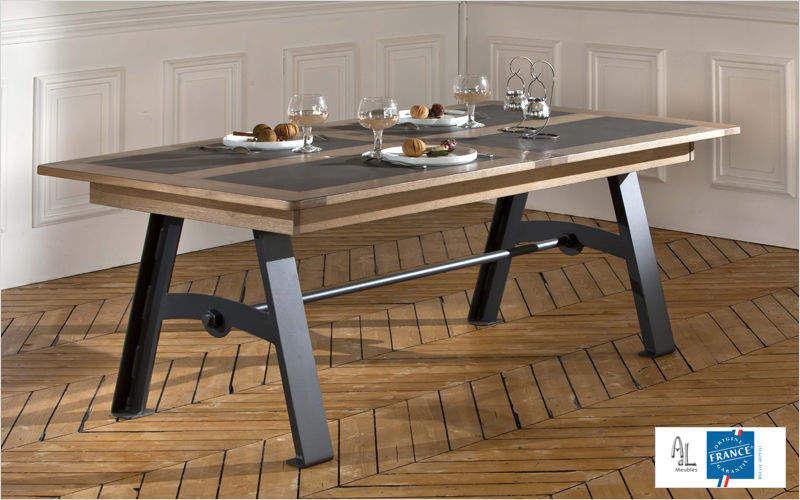 Ateliers De Langres Rechteckiger Esstisch Esstische Tisch  |