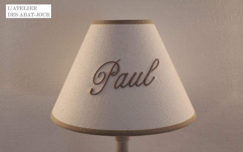 L'ATELIER DES ABAT-JOUR Konischer Lampenschirm Lampenschirmen Innenbeleuchtung  |