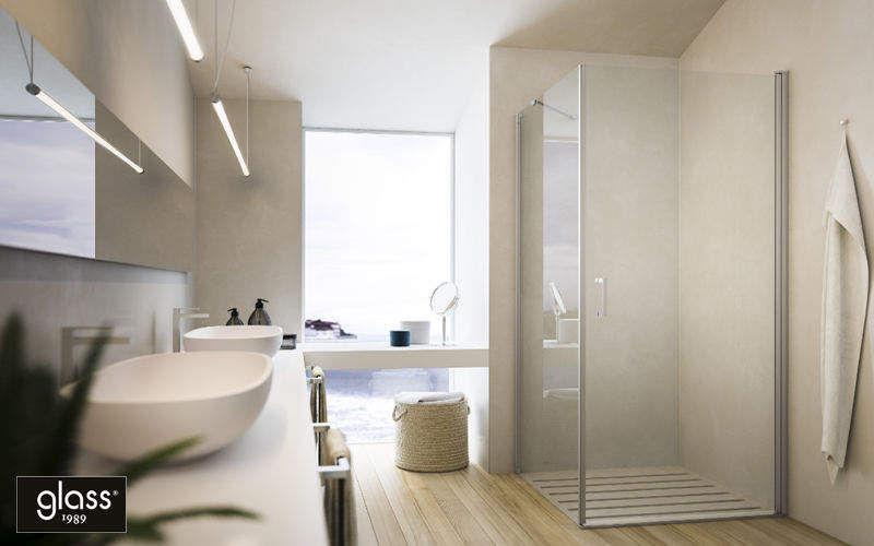 GLAss Duschwand Dusche & Zubehör Bad Sanitär  |