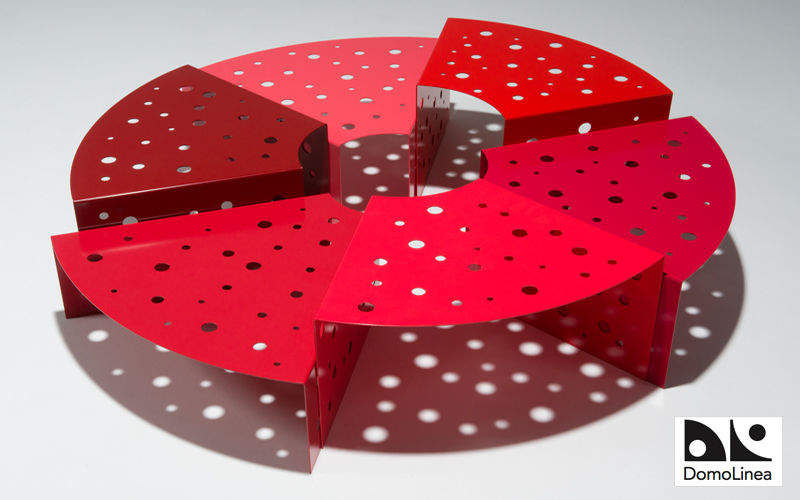 ANDRÉ LEGRAND DOMOLINEA Runder Couchtisch Couchtische Tisch   
