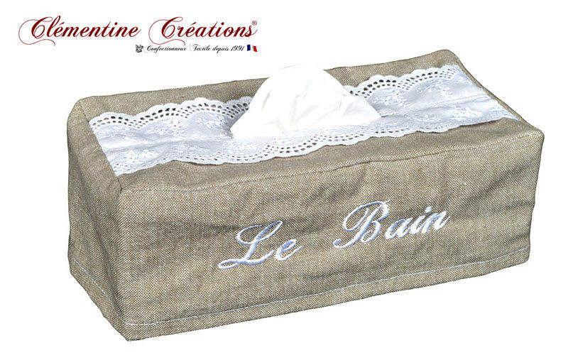 Clementine Creations Papiertaschentuch Behälter Badezimmeraccessoires Bad Sanitär  |
