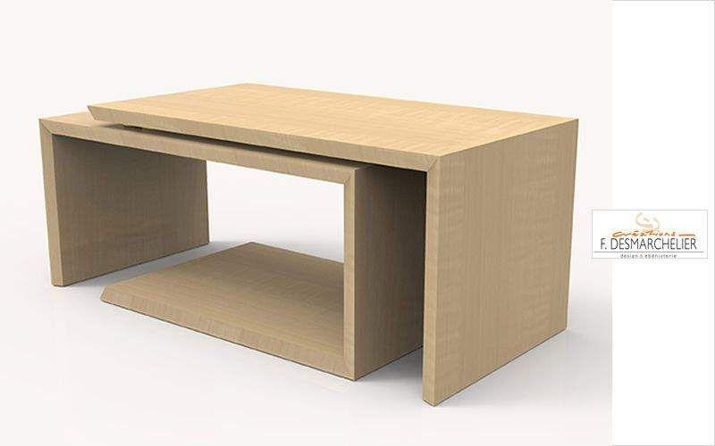 Creation Desmarchelier Rechteckiger Couchtisch Couchtische Tisch  |
