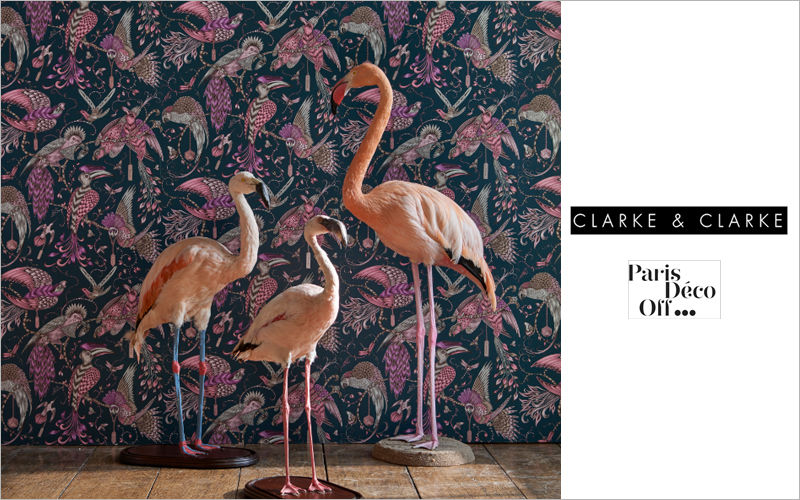 CLARKE & CLARKE Tapete Tapeten Wände & Decken  |
