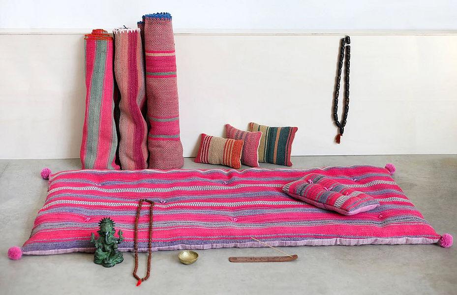 TRHANDY Futon Einzelbett Betten  |