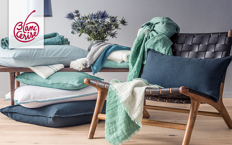 BLANC CERISE Bodenkissen Schemel und Beinauflage Sitze & Sofas  |
