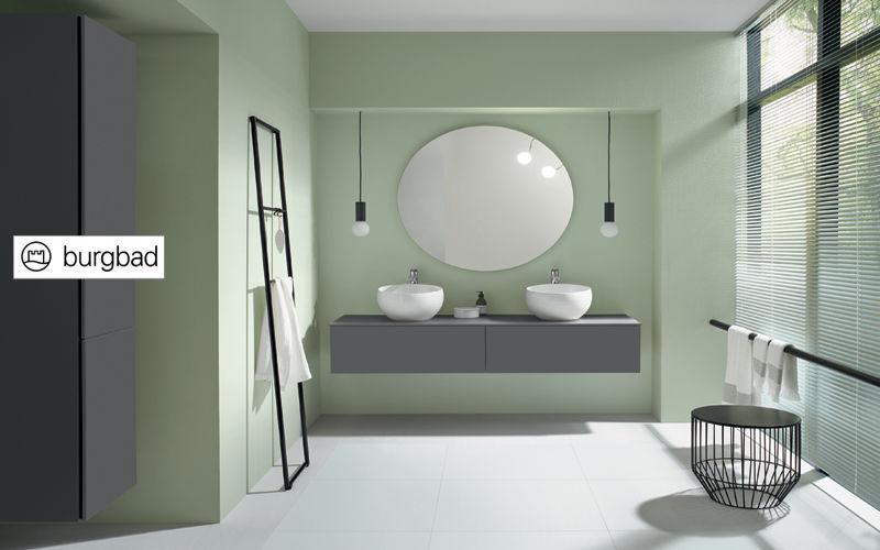 BURGBAD Doppelwaschtisch Möbel Badezimmermöbel Bad Sanitär  |