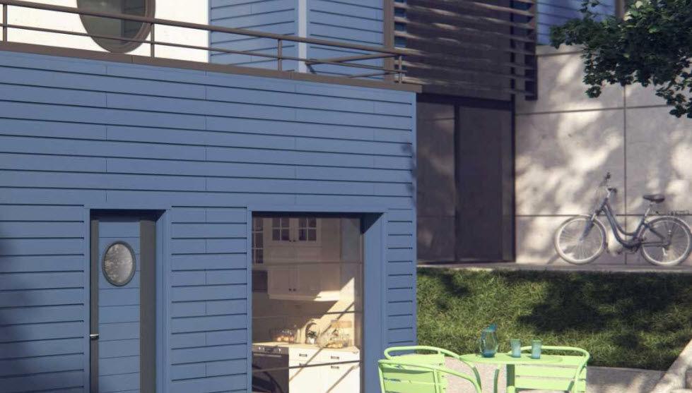 Dal'alu Wandverkleidung Außenwände Wände & Decken  |