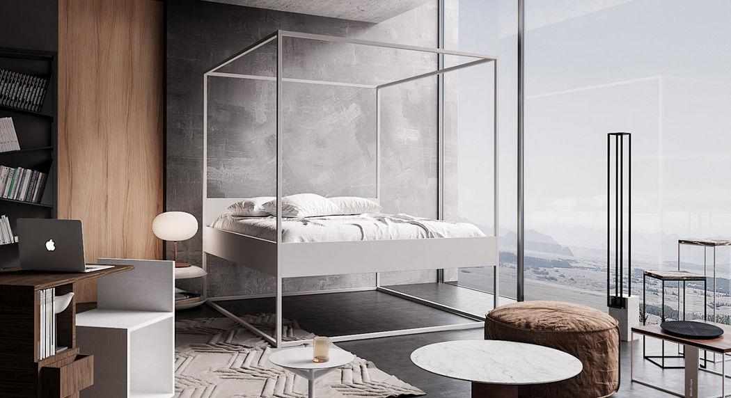 FILODESIGN Doppel-Himmelbett Doppelbett Betten  |