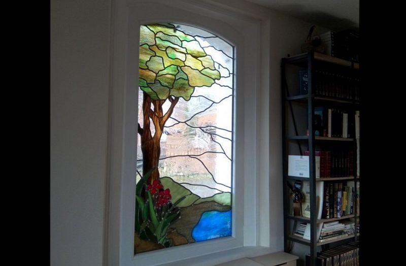 VITRAUX MAX Buntglasfenster Glasmalereien Verzierung  |