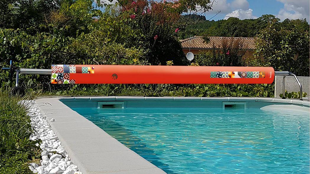 METEKI Cubierta de piscina en lona Schwimmbadabdeckung Schwimmbad & Spa  |