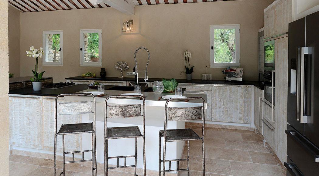 Luberon creation Traditionelle Küche Küchen Küchenausstattung  |