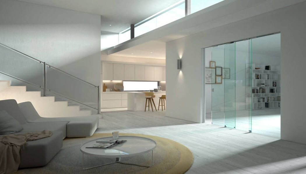 Scrigno Schiebetür Tür Fenster & Türen Wohnzimmer-Bar | Design Modern