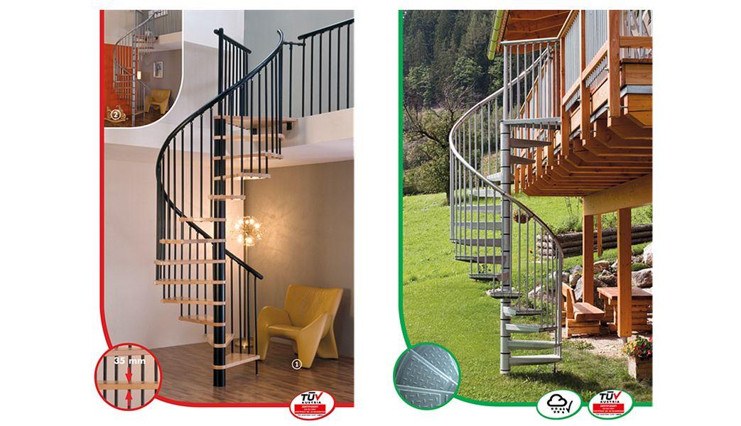 MINKA Wendeltreppe Treppen, Leitern Ausstattung  |