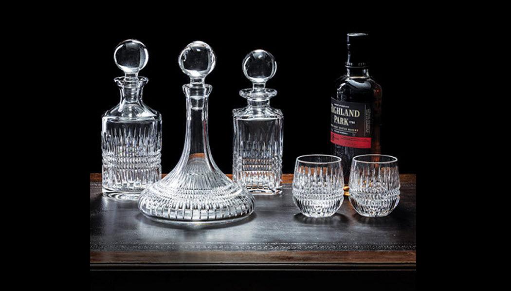 ROYAL SCOT CRYSTAL Dienst in Whisky Flaschen und Karaffen Glaswaren  |