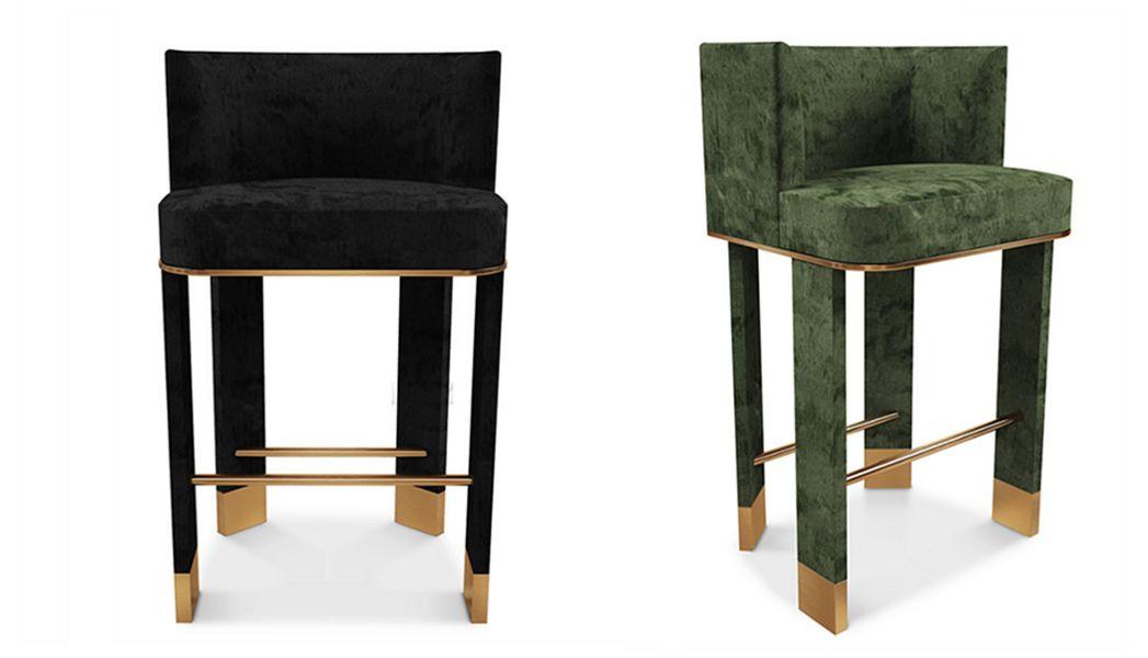 BYSWANS Barhocker Schemel und Beinauflage Sitze & Sofas  |