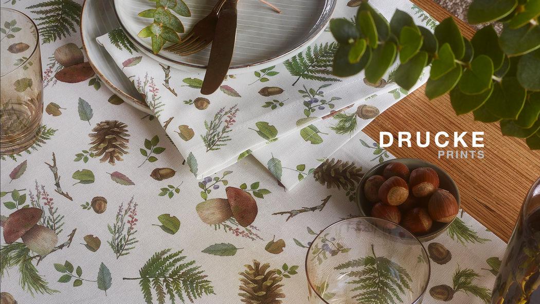 Sander Tischdecke und passende Servietten Tischdecken Tischwäsche   