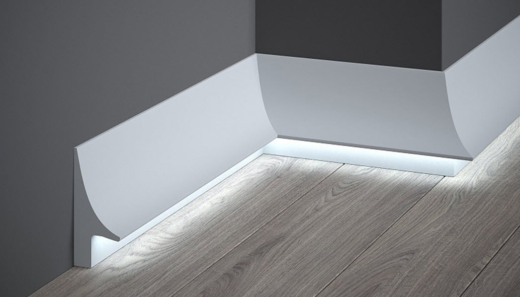 MARDOM DECOR Fußleiste Holzvertäfelungen Wände & Decken  |