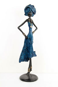 Bronzes d'Afrique - Kleine Statue
