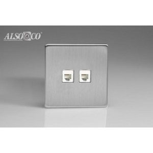 ALSO & CO - double rj12 socket - Rj12 Steckdose