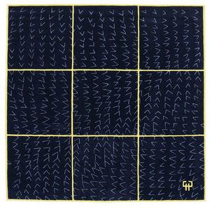 Designercarpets - blue - 12 - Moderner Teppich