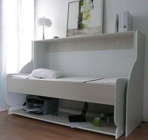 Combiné Lit / Bureau - single - Hochklappbares Bett