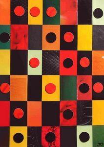 JOHANNA L COLLAGES - kind of - Zeitgenössische Gemälde