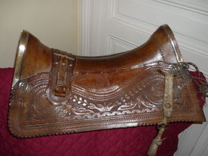Hippocante - selle de cheval gaucho - Pferdesattel