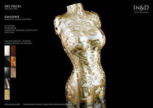 In&D - amazone - Skulptur