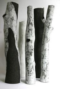 BEATRICE BRUNETEAU CÉRAMIQUES - 5 branches - Skulptur