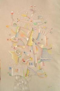 Michel Maugee -  - Bleistiftzeichnung