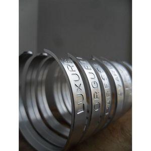 NINA IMAGINE... - bracelet - les 7 péchés capitaux - Armband