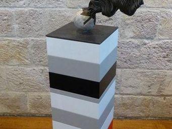 DEZIN-IN - l'energie du cheloïde alchimique lunaire 03 - Skulptur