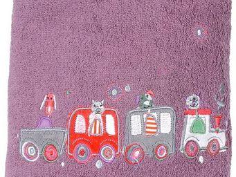 SIRETEX - SENSEI - drap de douche enfant 70x140cm en voiture - Kinder Badetuch