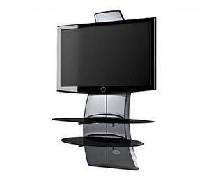 Meliconi - meuble tv ghost design 2000 silver - Hifi Möbel