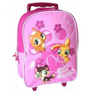 LITTLES PET SHOP - trolley littlest pet shop - Shüller Tasche